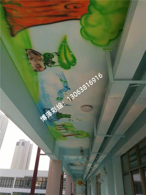 相城学校墙绘
