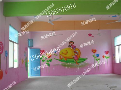 苏州学校墙绘公司