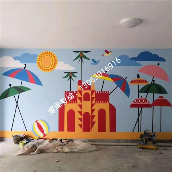 相城学校墙绘公司