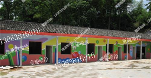 吴中幼儿园墙绘公司